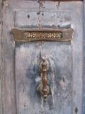 Oude brievenbus Royalty-vrije Stock Afbeeldingen