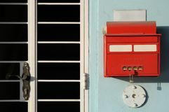 Oude brievenbus Royalty-vrije Stock Afbeelding