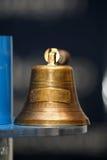 Oude bronsklok Royalty-vrije Stock Foto