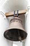 Oude bronsklok Stock Foto