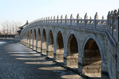 Oude brug #1 royalty-vrije stock afbeelding