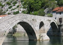 Oude brug 2 royalty-vrije stock fotografie