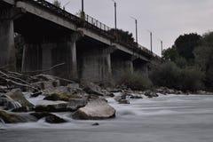 Oude brug Stock Foto's