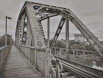 Oude brug Royalty-vrije Stock Foto