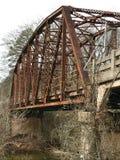 Oude brug Royalty-vrije Stock Afbeeldingen