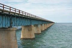 Oude brug aan Key West Stock Fotografie