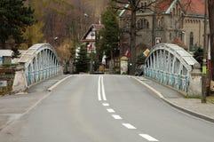 Oude brug in Piechowice in Polen Royalty-vrije Stock Afbeelding