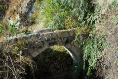 Oude brug, Turkije Royalty-vrije Stock Foto