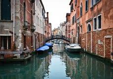 Oude brug in Venetië Royalty-vrije Stock Fotografie
