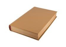 Oude bruine boek dichte omhooggaand stock afbeeldingen