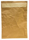 Oude bruine envelop Royalty-vrije Stock Foto