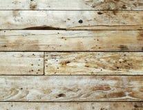 Oude bruine houten achtergrond met horizontale raad Royalty-vrije Stock Afbeelding
