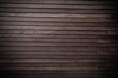 Oude bruine houten muurtextuur, patroonachtergrond Stock Foto