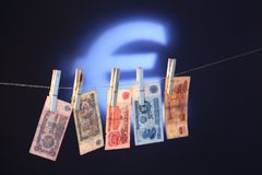 Oude Bulgaarse bankbiljetten Royalty-vrije Stock Afbeeldingen