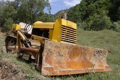 Oude bulldozer Stock Foto
