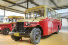 Oude bus Stock Foto