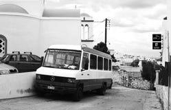 Oude bus Stock Afbeelding
