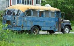Oude Bus Royalty-vrije Stock Afbeeldingen