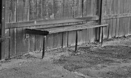 Oude bushalte Stock Foto