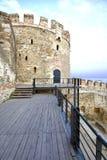 Oude byzantijnse toren Royalty-vrije Stock Foto's