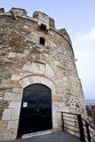 Oude byzantijnse vesting in Griekenland Stock Afbeeldingen