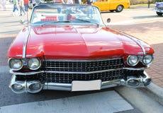 Oude Cadillac-auto Royalty-vrije Stock Foto's