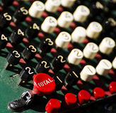 Oude calculator Royalty-vrije Stock Afbeelding