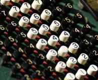 Oude calculator Stock Fotografie