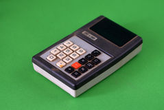 Oude calculator Royalty-vrije Stock Fotografie