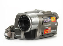 Oude camcorder Royalty-vrije Stock Afbeelding