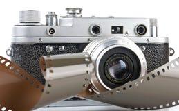 Oude camera Stock Afbeelding