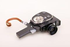 Oude camera Royalty-vrije Stock Afbeeldingen