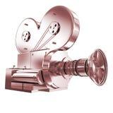 Oude camera 3d geef terug Royalty-vrije Stock Afbeeldingen