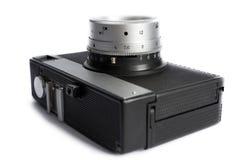 Oude camera die op wit wordt geïsoleerdw royalty-vrije stock foto's