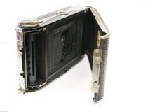 Oude camera op geïsoleerdp wit Royalty-vrije Stock Afbeeldingen