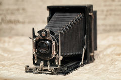 Oude camera, oude camera royalty-vrije stock foto's