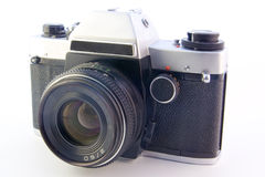 Oude camera SLR stock foto