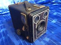 Oude camerafilm Stock Foto's