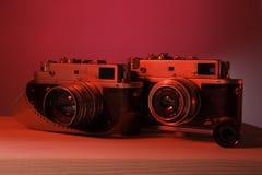 Oude Camerafoto Royalty-vrije Stock Foto