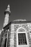 Oude Camii-moskee, de foto van het voorgevelfragment Royalty-vrije Stock Foto
