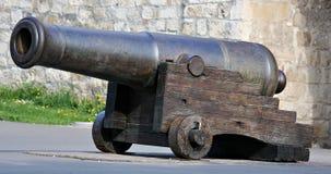 Oude canon stock afbeelding