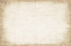 Oude canvastextuur Stock Fotografie