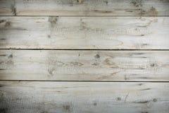 Oude carpentary houten Desktop met spijkers en krassen royalty-vrije stock foto