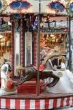 Oude carrousel Royalty-vrije Stock Afbeelding