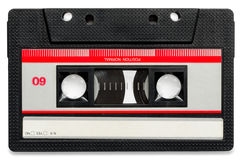 Oude cassette royalty-vrije stock foto's