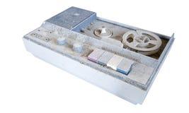 Oude cassettespeler Stock Foto
