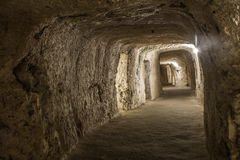 Oude Catacombe Stock Fotografie