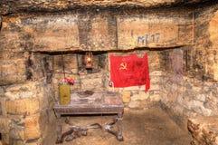 Oude Catacomben Odessa Stock Afbeeldingen