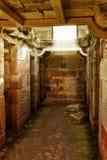 Oude celruïnes royalty-vrije stock afbeeldingen