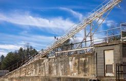Oude Cementfabriek Royalty-vrije Stock Afbeelding